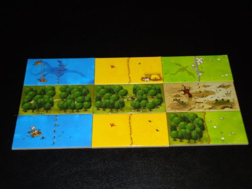 Kingdomino - Landscape Tiles
