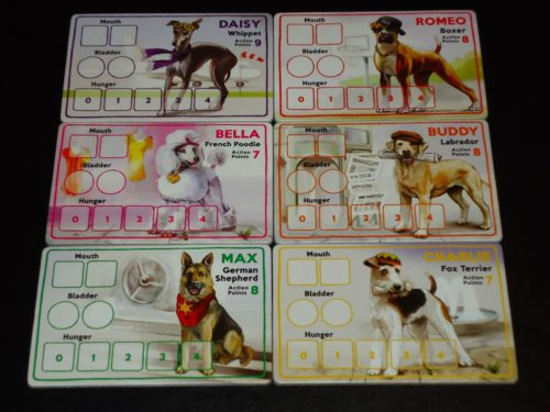 A Dog's Life - Player Boards
