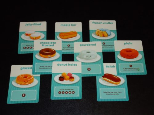 Go Nuts for Donuts - 2p Game Cards