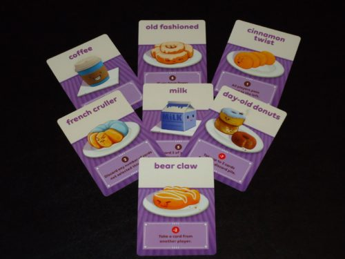 Go Nuts for Donuts - 4p Game Cards