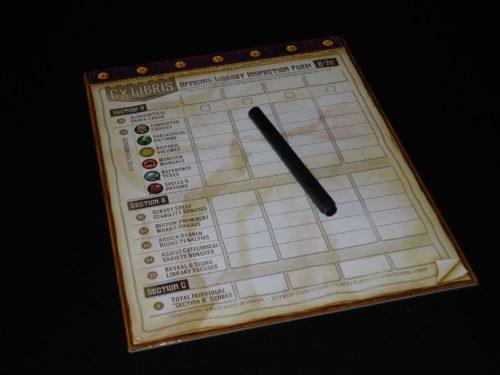 Ex Libris - Score Board