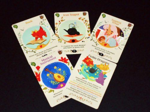 Tea Dragon Society: Market Cards