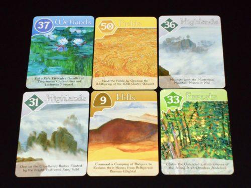 Fantastiqa RR: Cards
