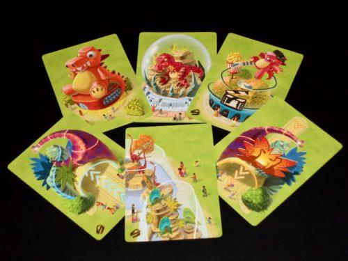 Mesozooic: Advanced Cards