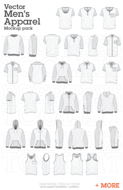 The Entire Vector Apparel Mockup Collection