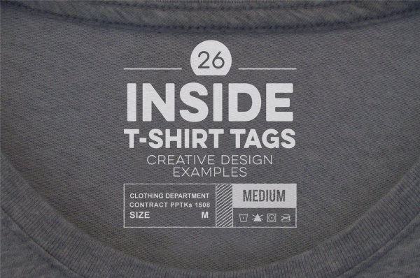Example T-Shirt Tags