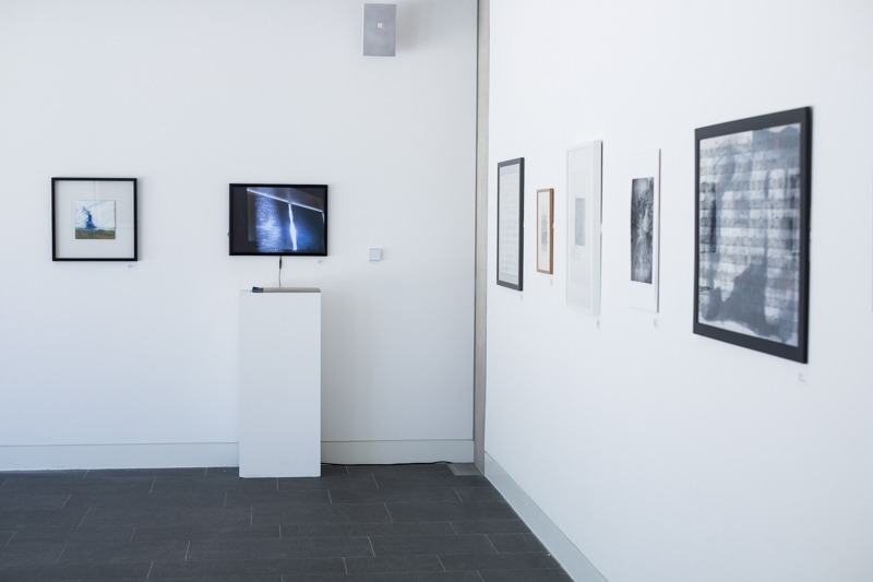 Images of gallery exhibition