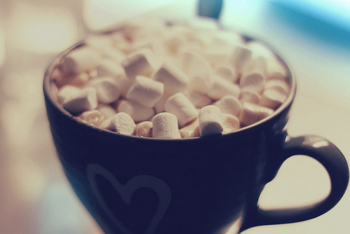 Image result for hot chocolate and cookies tumblr