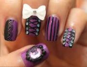 emo nail art