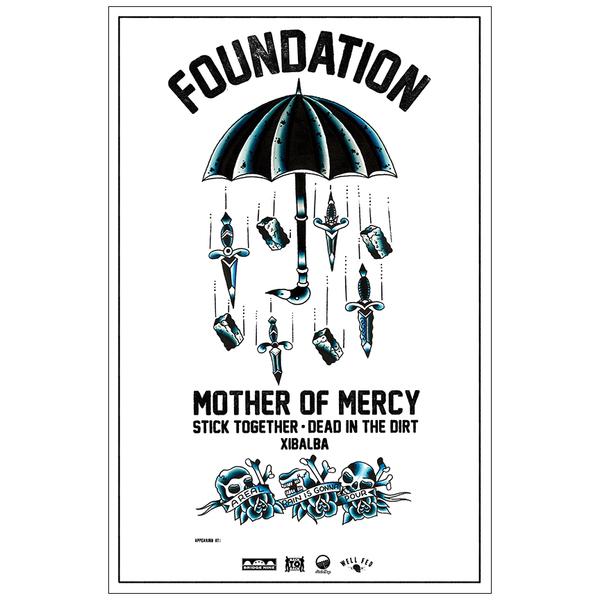 Buy Foundation 'Umbrella' Poster at Bridge Nine Records