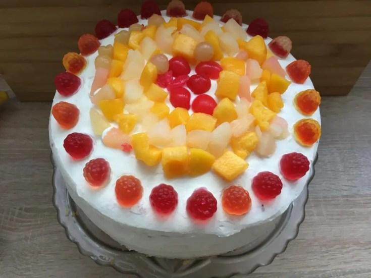 , Prosty  i szybki tort okazjonalny