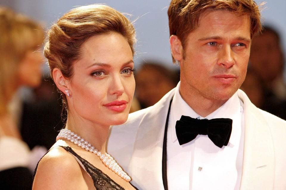 Анджелина Джоли и Брэд Питт были самой красивой парой Голливуда.