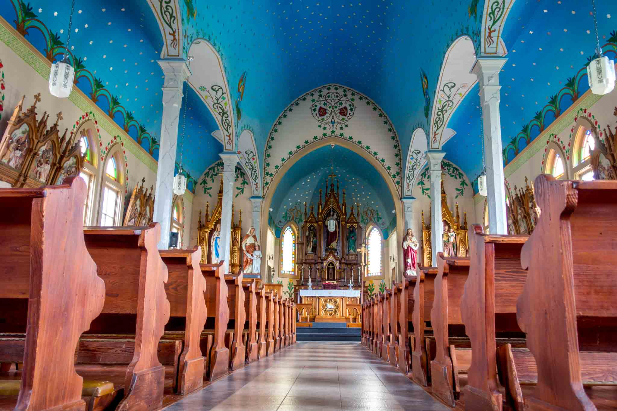 5 fabulous painted churches