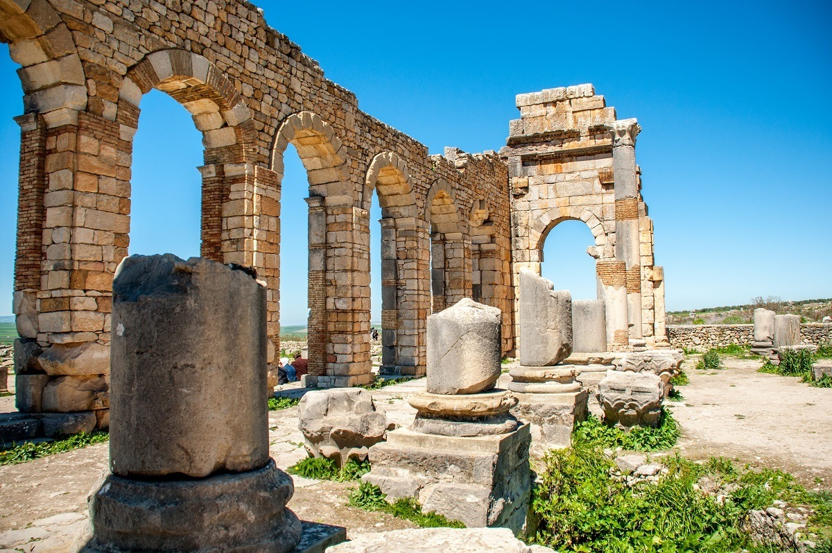 What To Expect At The Roman Ruins Of Volubilis Morocco