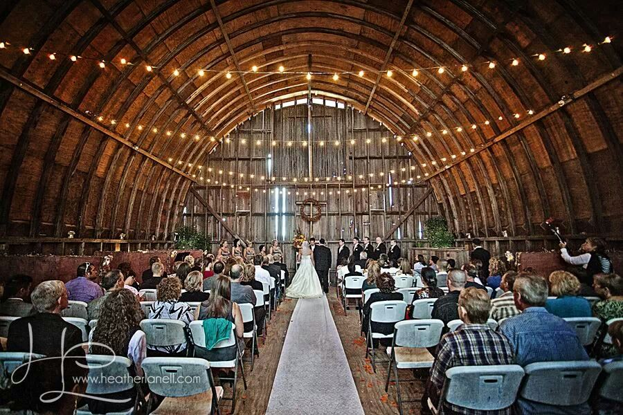 The Barn at Allen Acres  Rock Falls IL  Rustic Wedding Guide