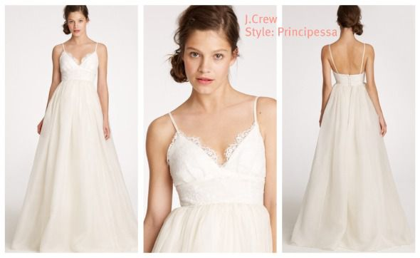 Country Style J.Crew Wedding Gowns