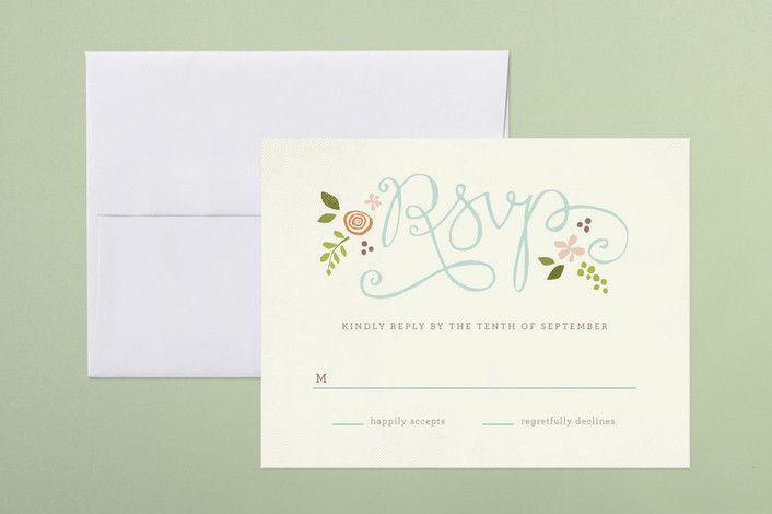 rsvp cards for weddings wording
