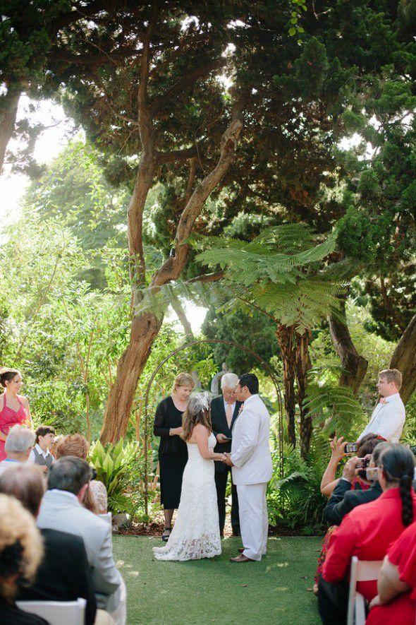 EcoFriendly California Wedding April  Chris  Rustic
