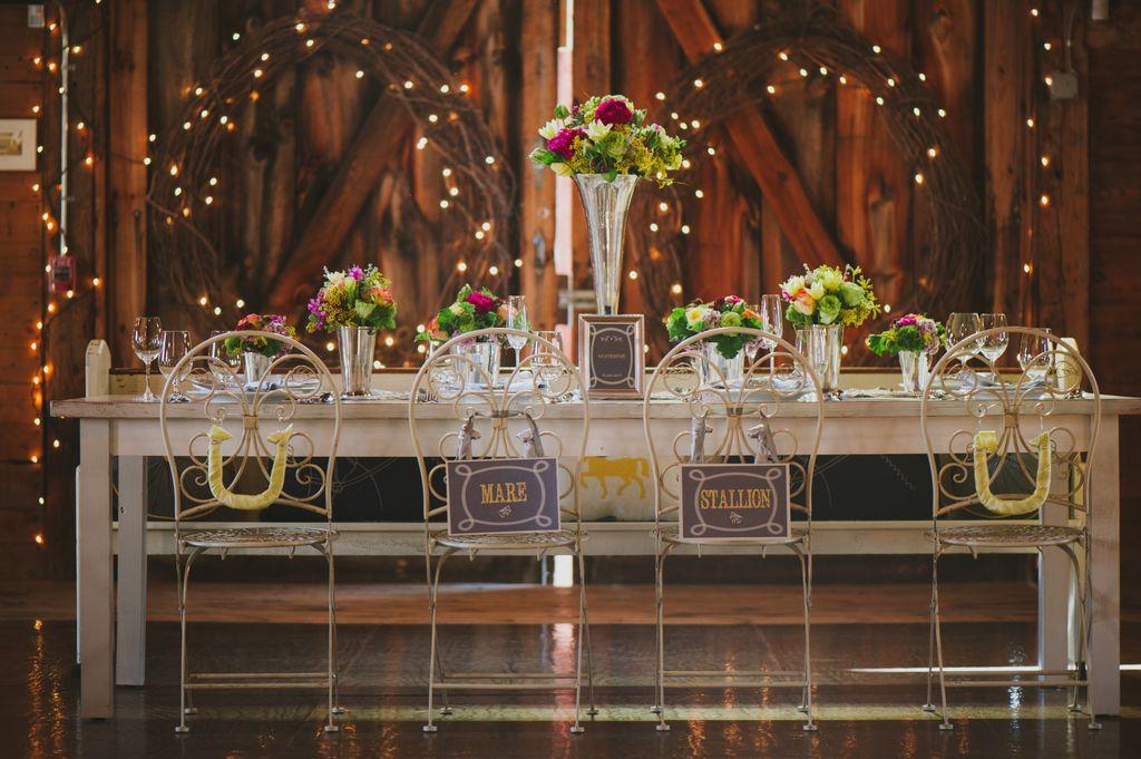 Bridal Table Arrangements
