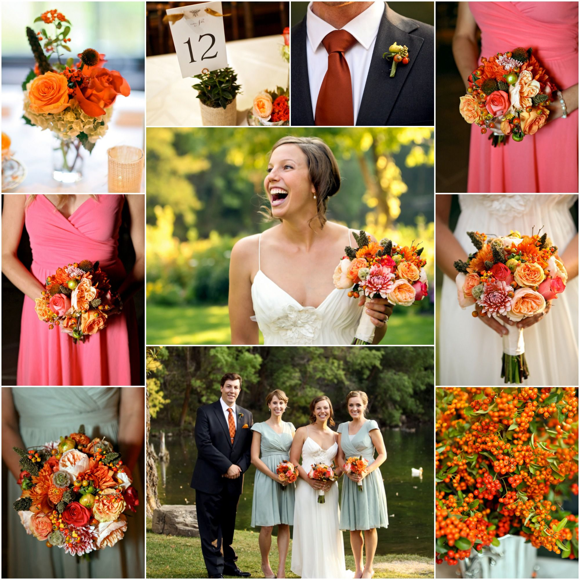 Fall Rustic Lodge Wedding  Rustic Wedding Chic