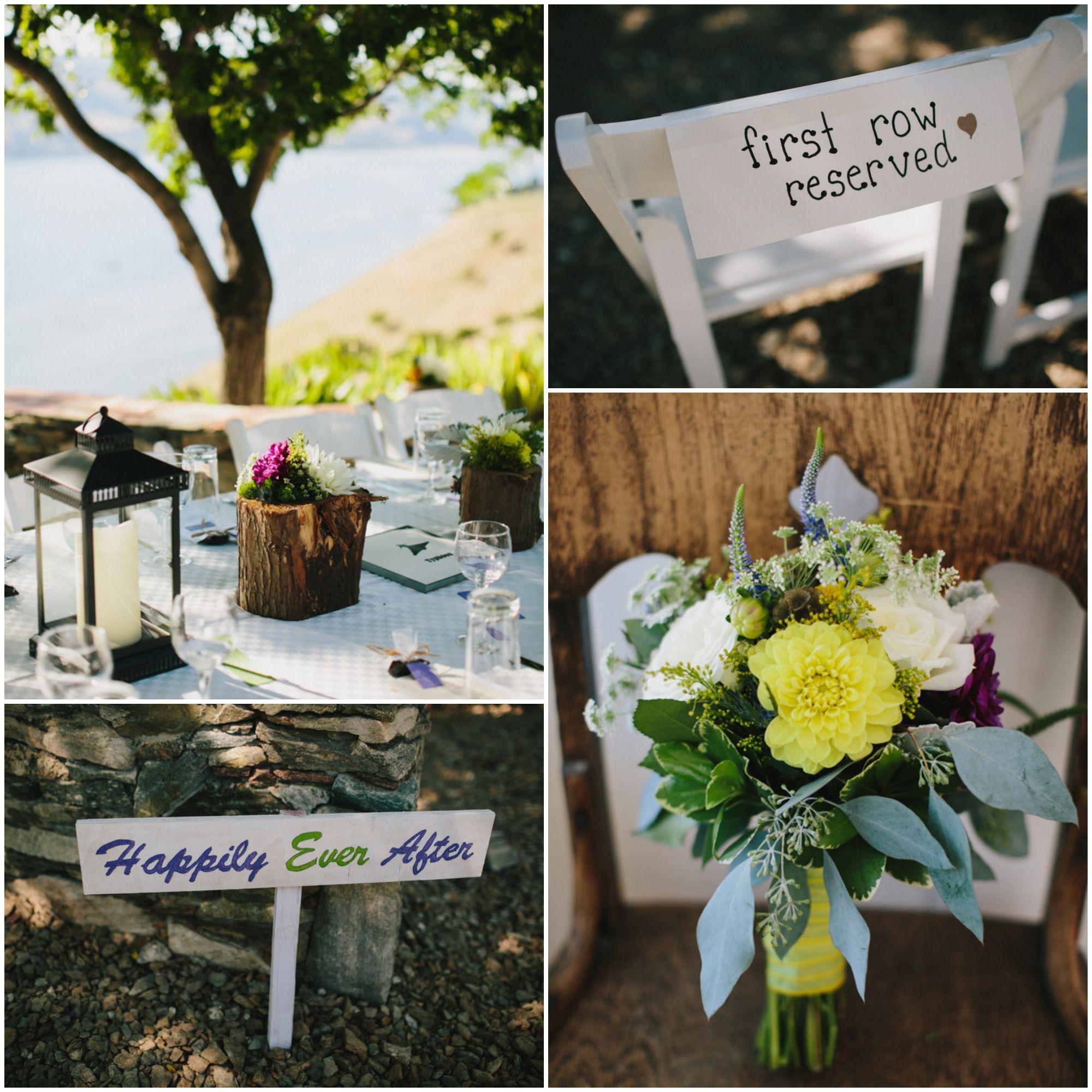 A Wedding By A Lake Rustic Wedding Chic