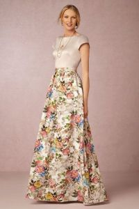 10 Floral Bridesmaid Dresses For Fall - Rustic Wedding Chic