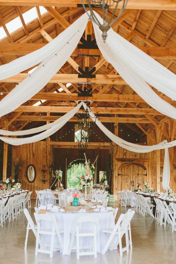 Shabby Chic Barn Wedding Ideas