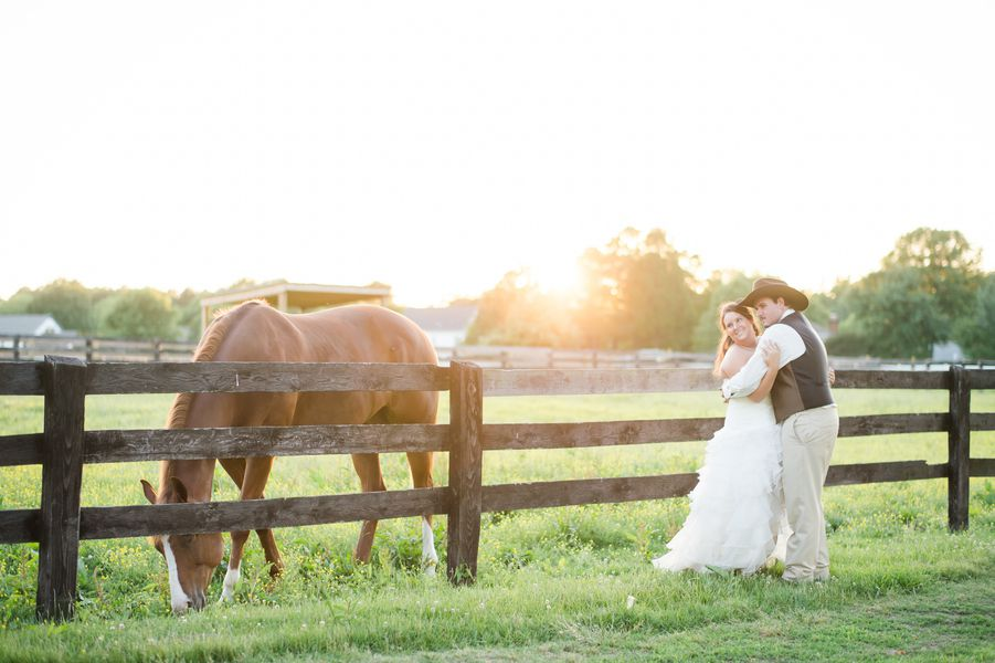 Country Wedding On Horse Farm  Rustic Wedding Chic