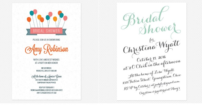Preppy Wedding Invitations