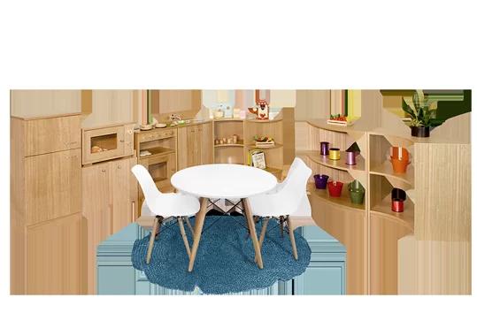 Complete Kitchen Set  Home Corner  Preschool Equipment