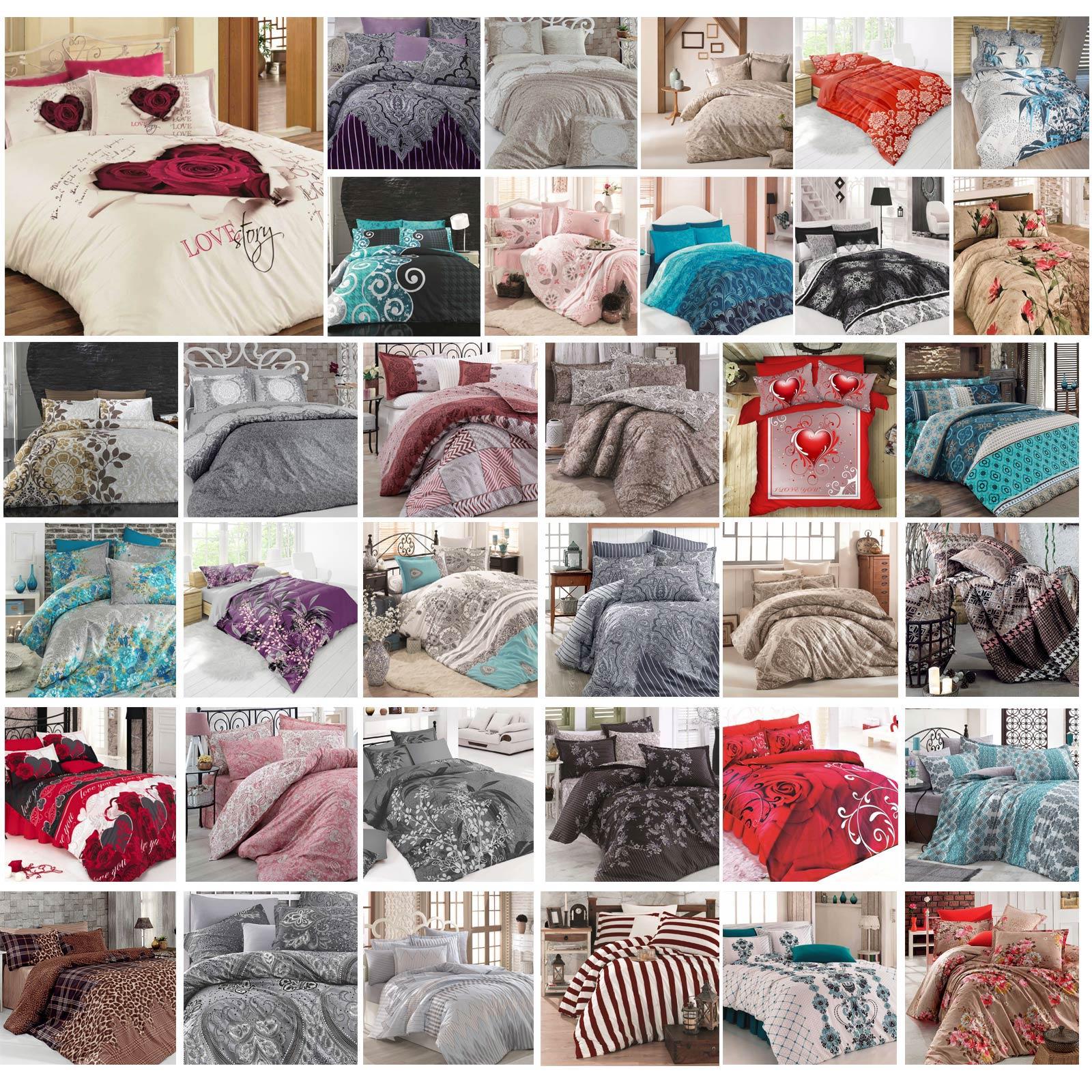823f189736 Details Zu Bettwäsche 220x240 Cm Bettgarnitur Bettbezug Baumwolle Kissen  Decke 6 Tlg Var 6