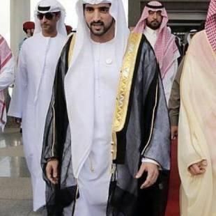 ولي عهد دبي يصل جدة