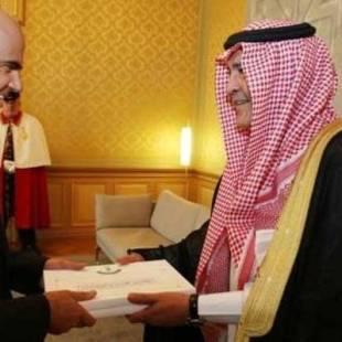 الأمير منصور بن ناصر يسلم أوراق اعتماده سفيراً لخادم الحرمين الشريفين لدى سويسرا