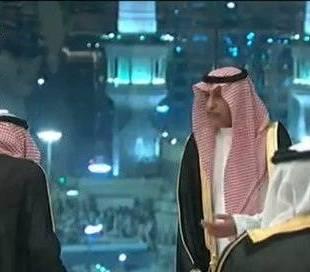 بالفيديو.. صورة تذكارية للملك سلمان مع قادة الخليج أمام الحرم المكي