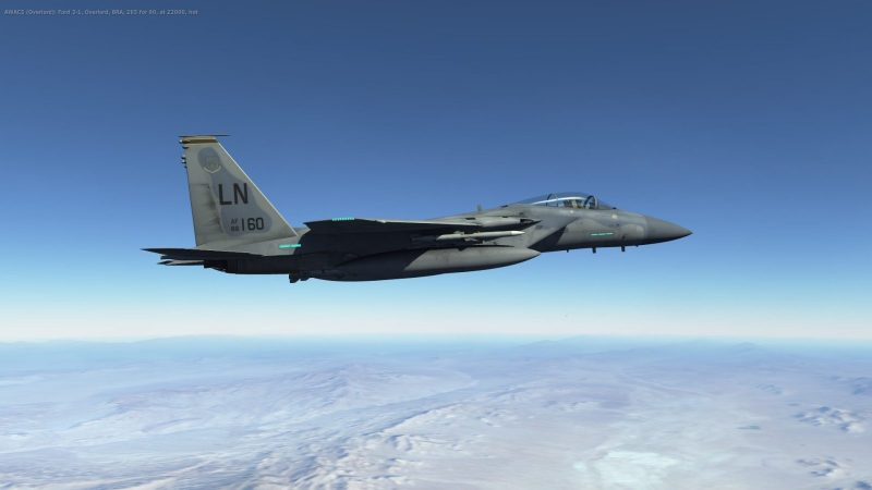 PlaiskooL  patrolling over Nevada during Red lag 5