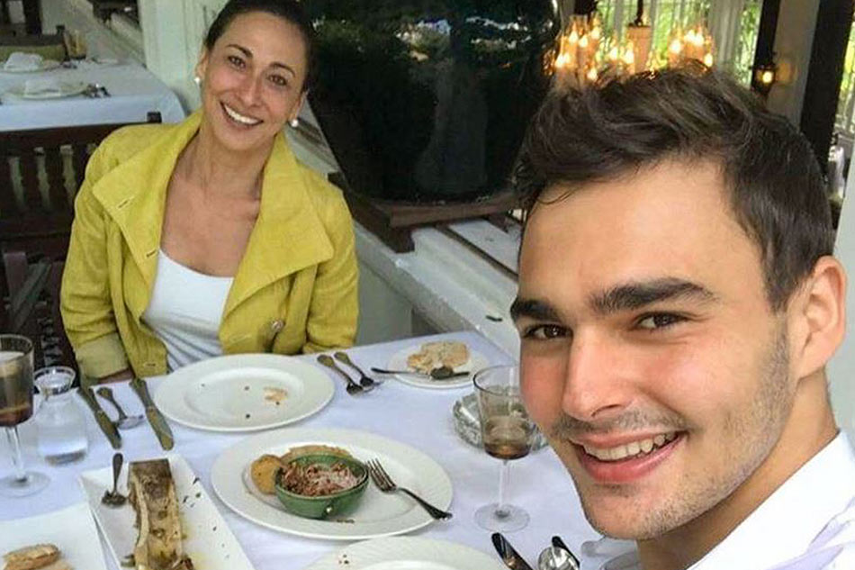 Show more posts from nadine. LOOK: Cherie Gil's handsome son visits her in PH   ABS-CBN