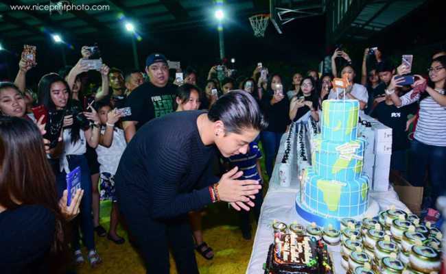 Daniel Padilla Gets Early Birthday Surprise From Fans
