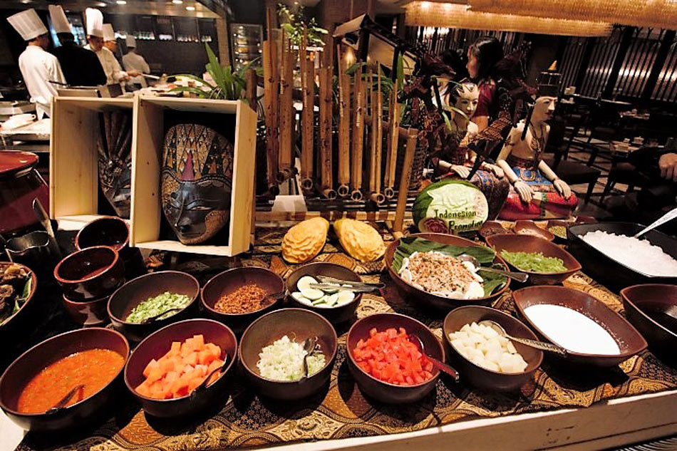 Sofitels Spiral spices up buffet with Indonesian classics  ABSCBN News