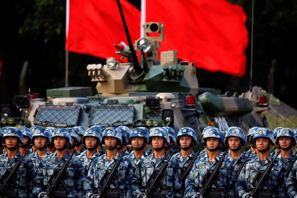 China's rising military power threatens Taiwan: defense report | ABS-CBN News