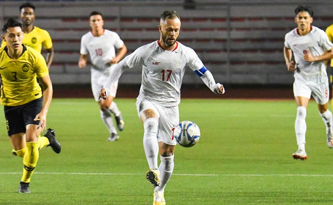 Sea Games Sublime Schrock Leads Azkals To Crucial 1st Win