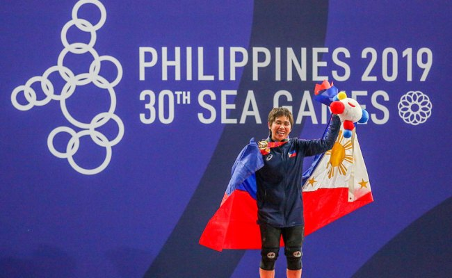 Sea Games Diaz Inspires Ph Weightlifters To Do More Abs
