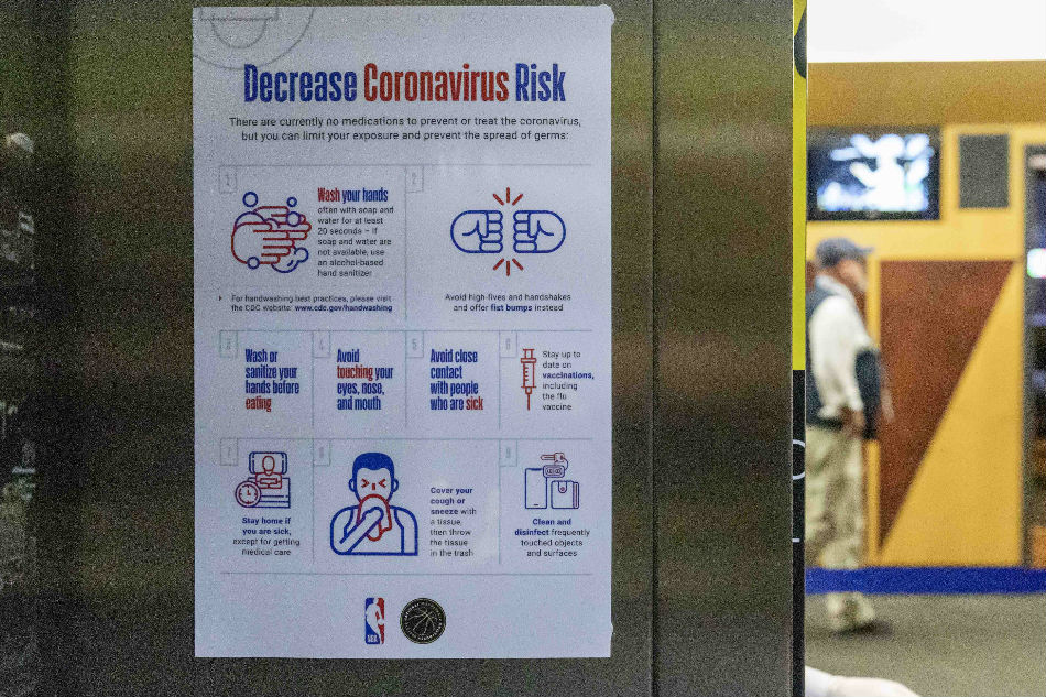 Fans shut out as coronavirus fears grip US sport | ABS-CBN News