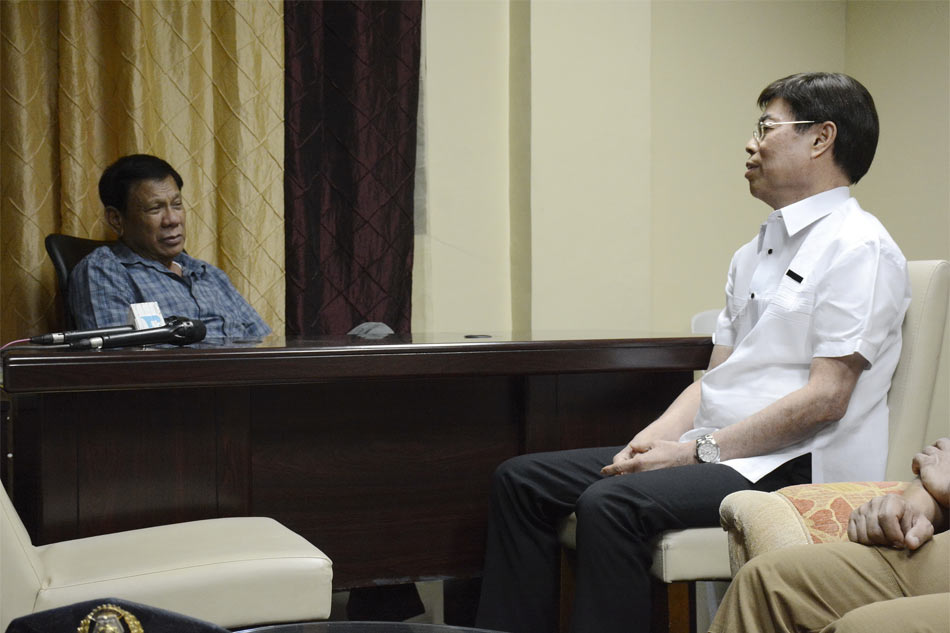 Image result for peter lim picture duterte