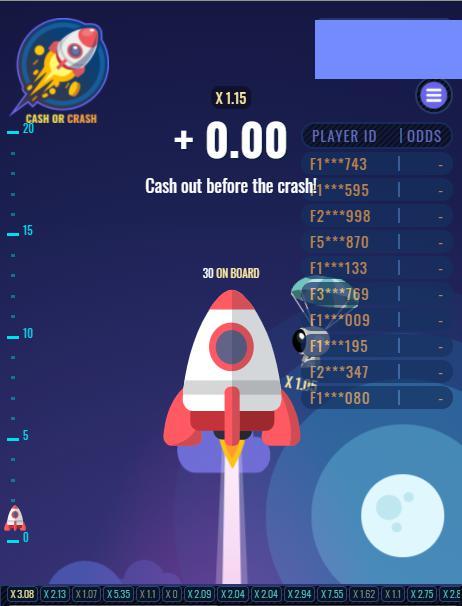 Cash or Crash เกมโดดร่ม วัดใจ