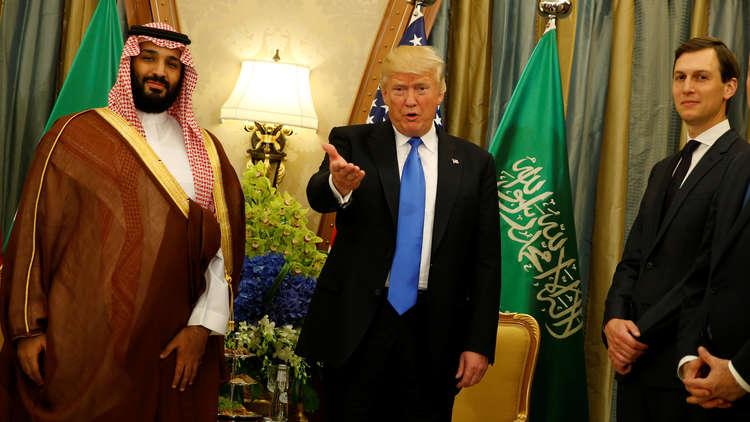 تذهب عائدات السعودية لأمريكا لحمايتها من مطالب الشعب وخوفا من الجوار لأنها لم تشكل قوة رادعة.