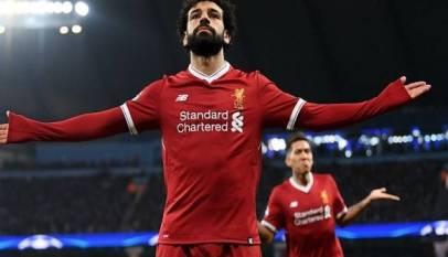 صلاح يتخطى عمالقة كرة القدم في دوري الأبطال