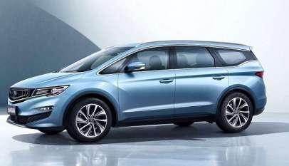 Geely الصينية تسعى لطرح أول سيارة ميني فان