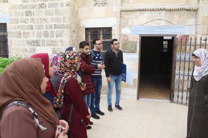 جولة تعريفية بالمواقع الأثرية في قطاع غزة 4