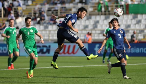 كأس اسيا للامم: اليابان تتجاوز تركمانستان بثلاثة اهداف لهدفين 1