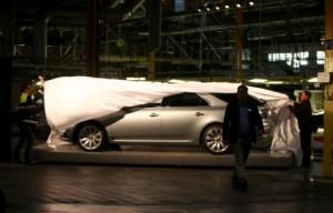 El nuevo traje deportivo Saab 9-5 se dará a conocer